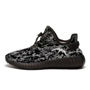 dark camouflage sneakers