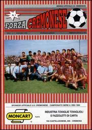 La copertina del primo numero di Forza Cremonese