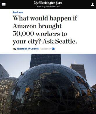 L'articolo del Washington Post del 19 ottobre 2017