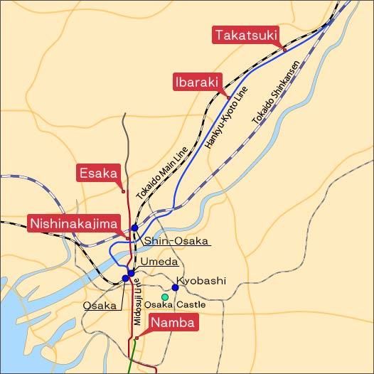 Ramen Uroko Map