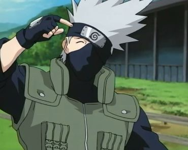 headscratching Kakashi