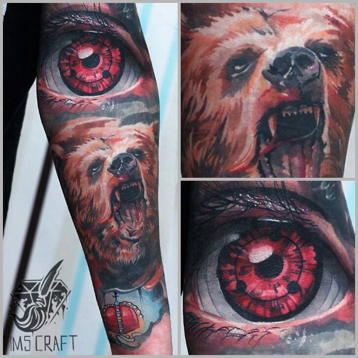 naruto sharingan tattoo sleeve
