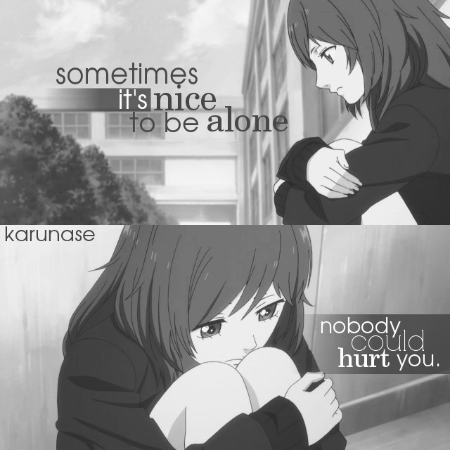 Anime Sad Girl Quotes Pics: 13 Anime Quotes About Pain That Cut Way Too Deep