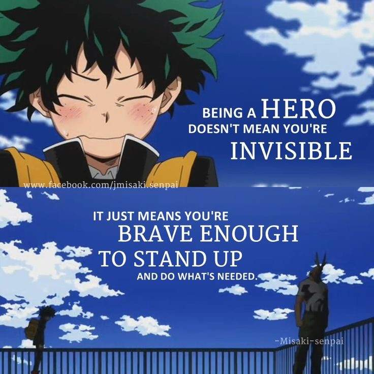 13 Boku No Hero Academia Quotes To Kickstart Your Day The Ramenswag