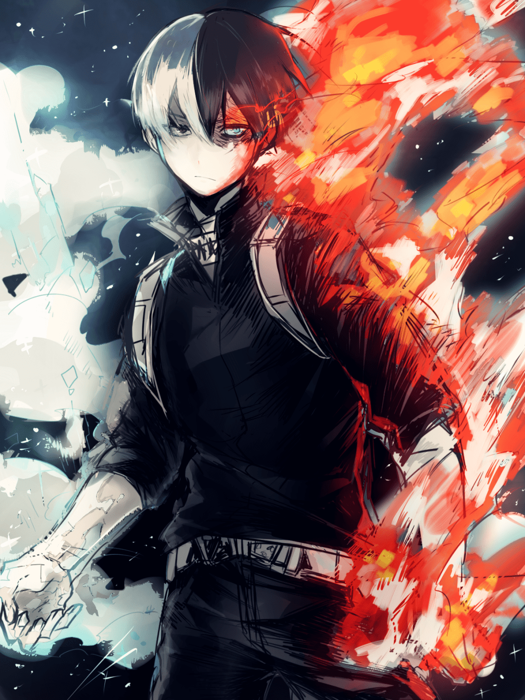 4k todoroki wallpapers