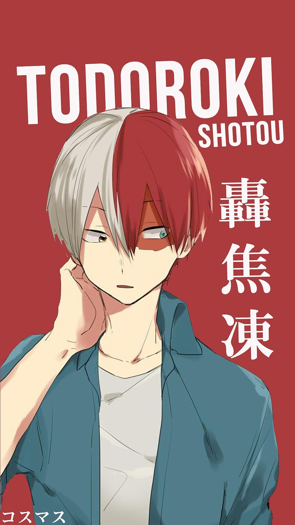 todoroki wallpaper iphone minimalist