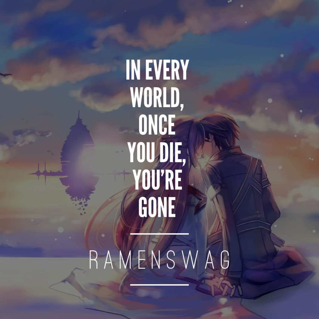 sword art online quotes