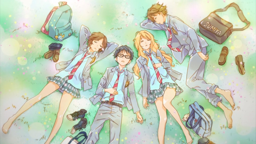 your lie in april wallpaper