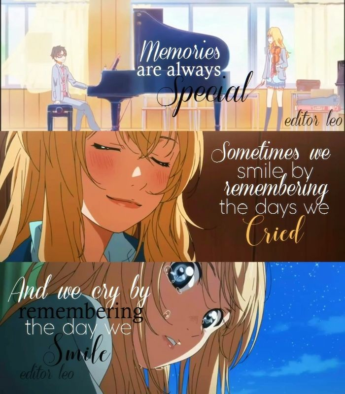 17 Your Lie In April Quotes Absolutely Worth Sharing Page 3 Of 5