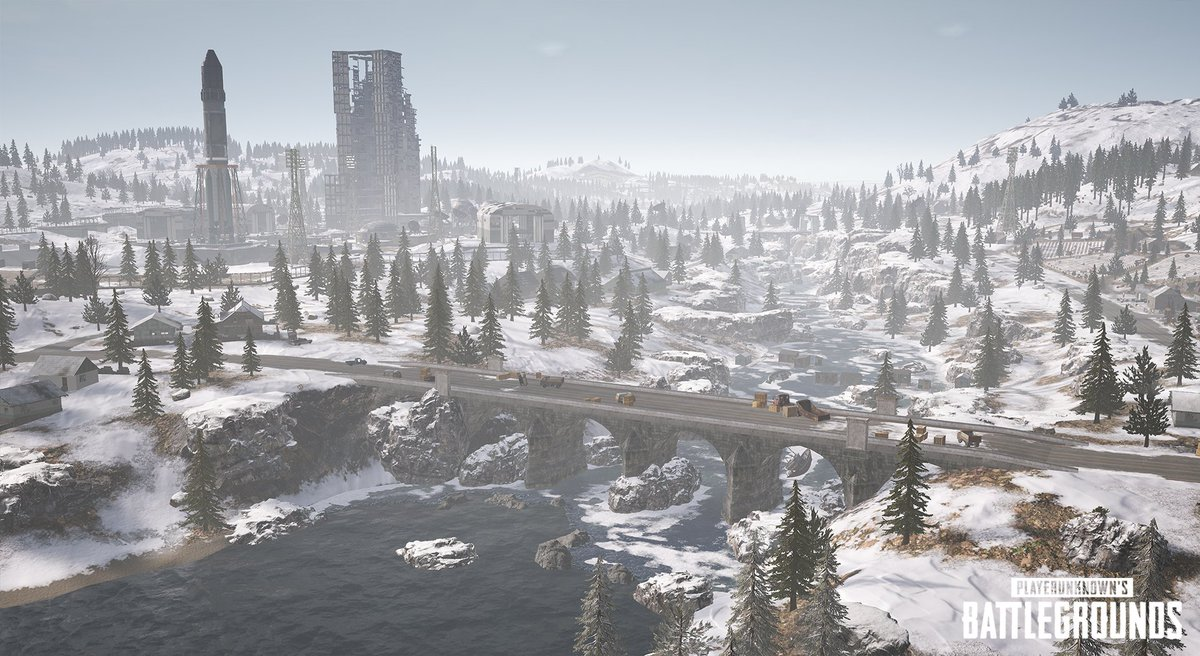 Amazing Pubg Mobile Vikendi Snow Map Wallpaper ...