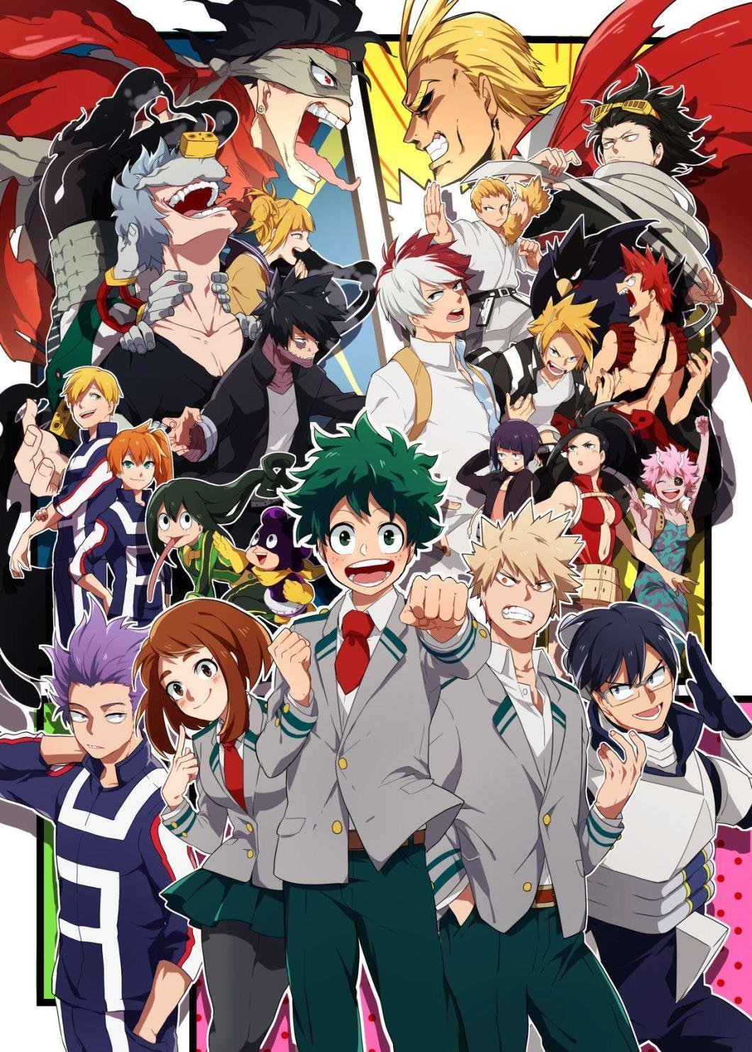 4k Boku No Hero Academia Wallpaper Iphone Android And Desktop