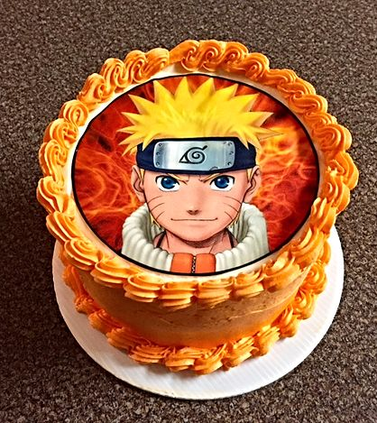 Incredible 9 Naruto Cake Decorations Absolutely Worth Stealing The Ramenswag Personalised Birthday Cards Sponlily Jamesorg