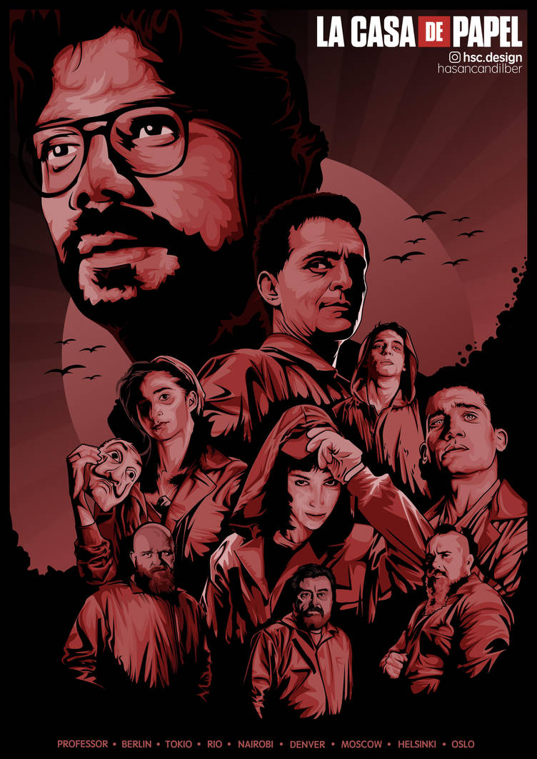 4k La Casa De Papel Wallpaper Iphone Desktop And Android The