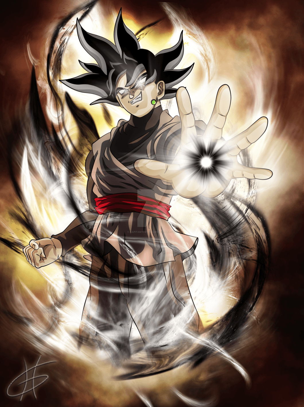 11 Black Goku Wallpaper 4k For iPhone, Android and Desktop ...