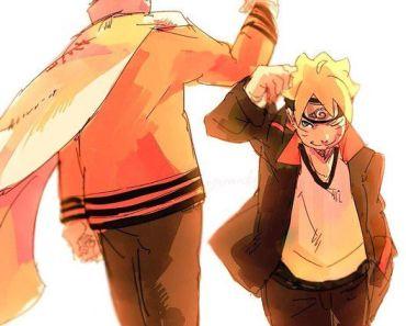 Naruto and Boruto wallpaper