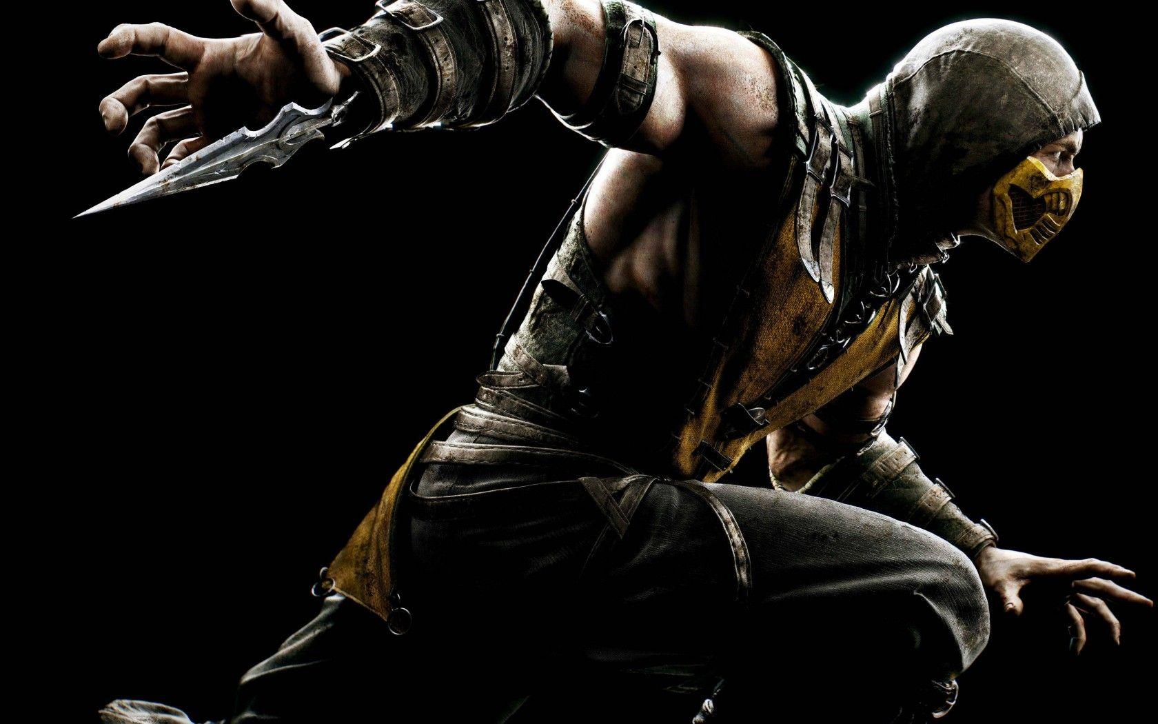 Mortal Kombat Wallpaper Scorpion 11 Mortal Kombat Games Fan