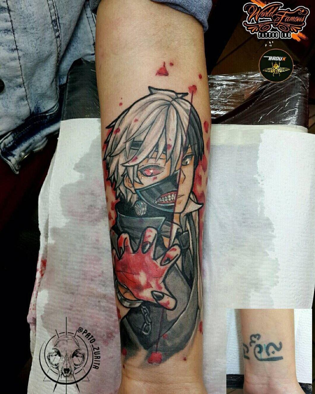 kaneki tattoo