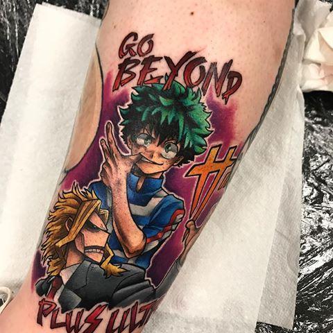 Boku no hero academia tattoo