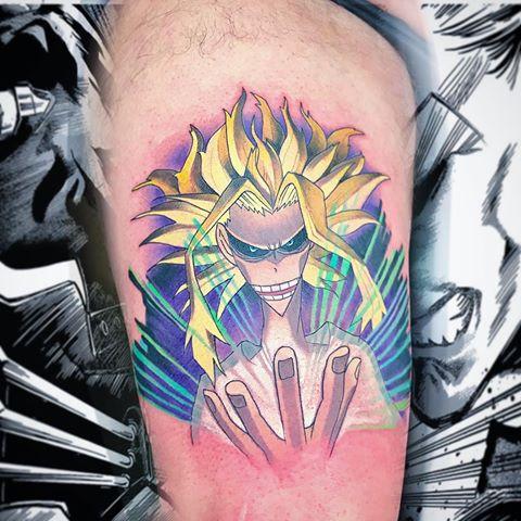 all might tattoo