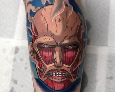 attack on titan tattoo