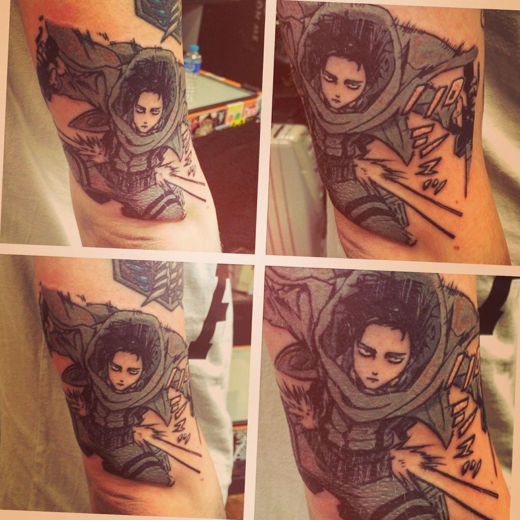 Attack on tattoo levi