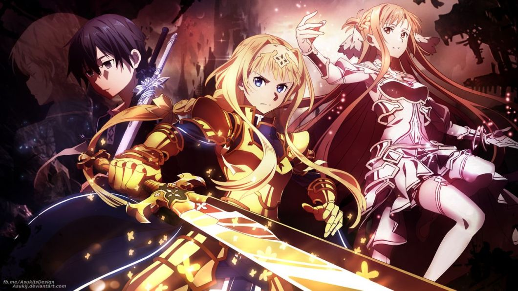 Sword Art Online Alicization War Of Underworld Wallpaper
