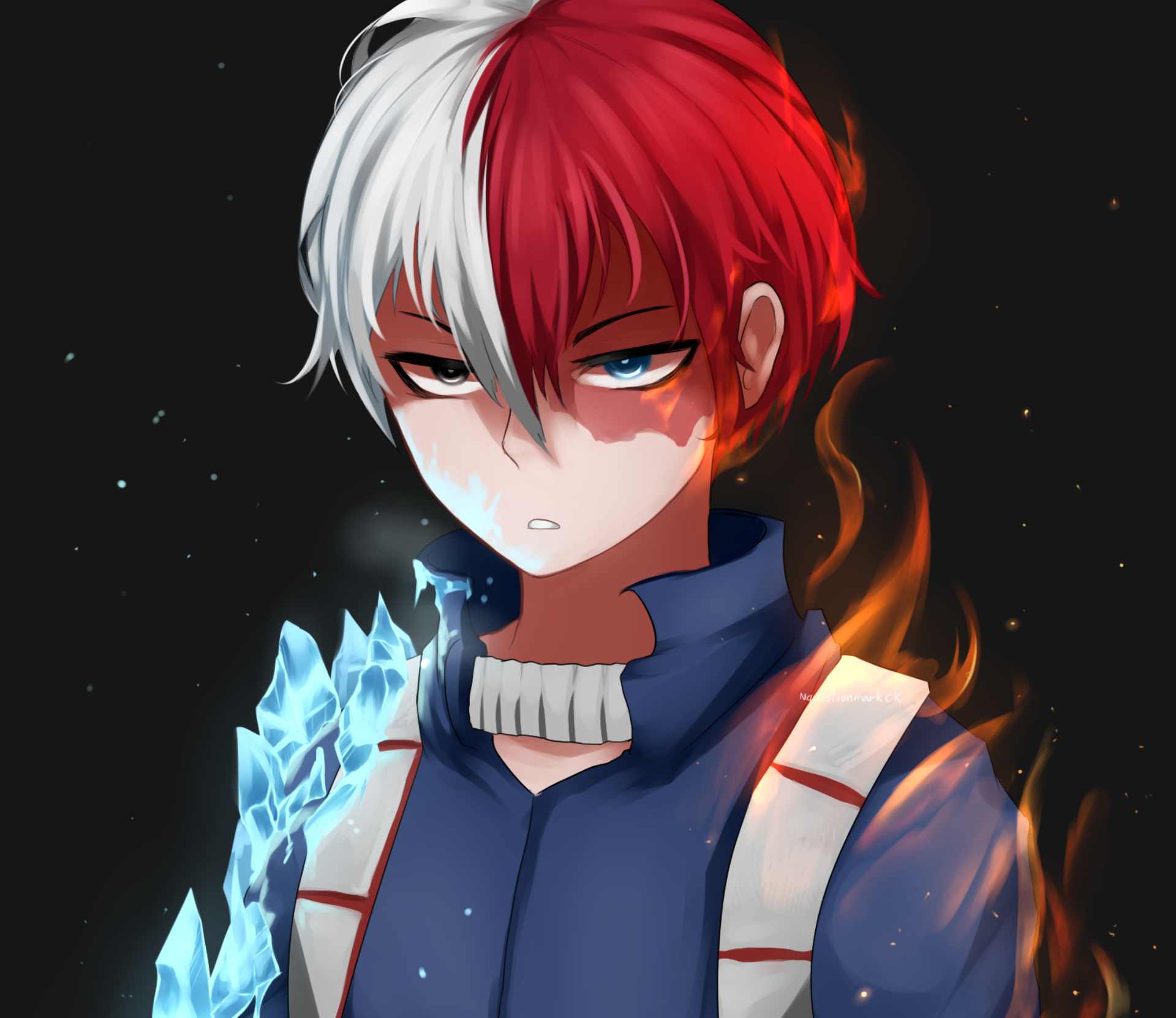 4k Todoroki Wallpapers Desktop Iphone And Android The