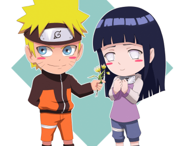 cute naruto and hinata wallpaper