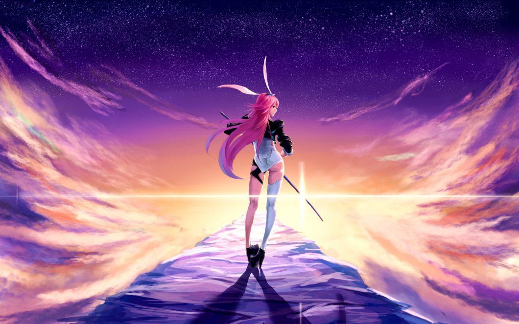 Anime Girl PUBG Wallpapers