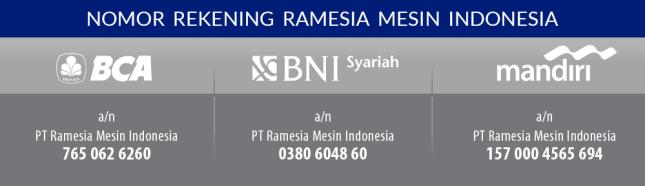Rekening PT Ramesia