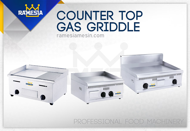 Mesin Gas Griddle