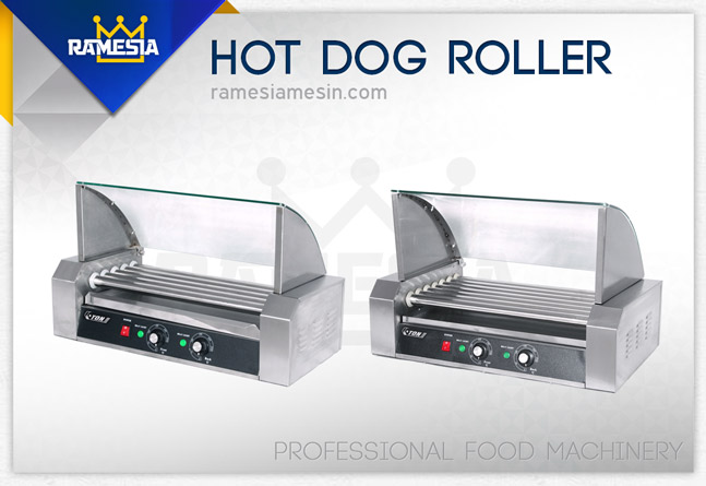 Mesin Hot Dog Roller