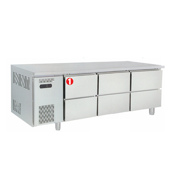 Under Counter Chiller With Drawer MGCR-180XHHH