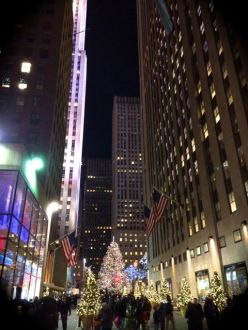 Christmas at the Rockefeller Center