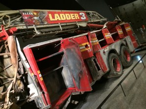 Ladder 3 Company's truck. The firemen who drove it to the WTC died when the towers fell. 9/11 Memorial & Museum