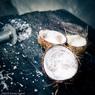 Coconut grinder.