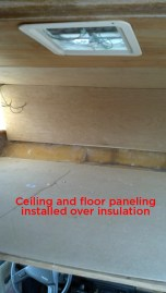 Panels over insulation.