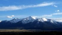 The Collegiate Peaks near Buena Vista, CO