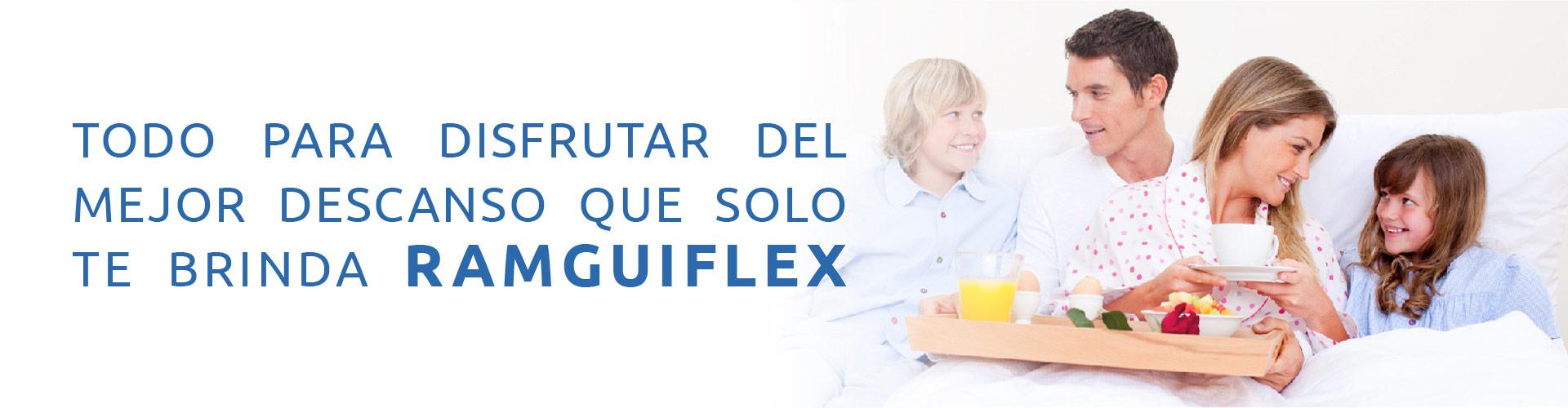 Promoción en la Tienda Ramguiflex: Colchones, Almohadas y Base Camas con la mejor calidad