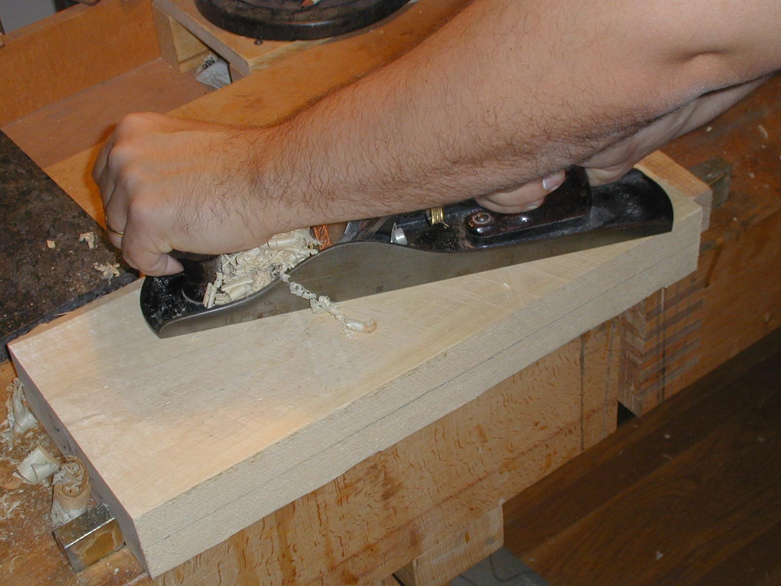 flatteningwood