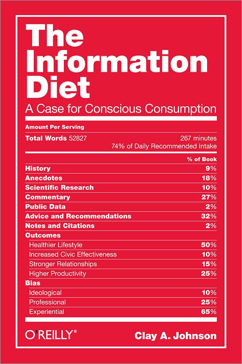 «La Dieta Informativa» de Clay Johnson (II): La mayor amenaza para la información es uno mismo.