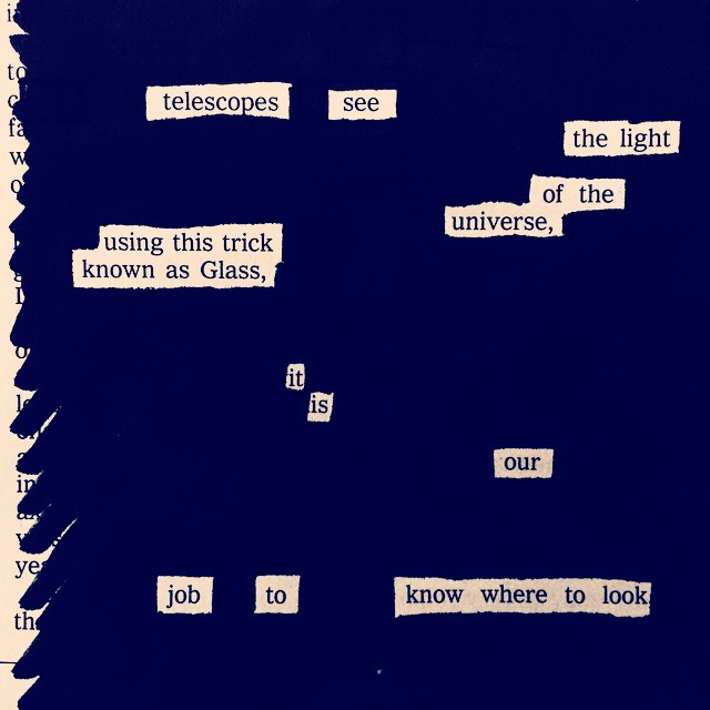 Austin Kleon: Newspaper Blackout