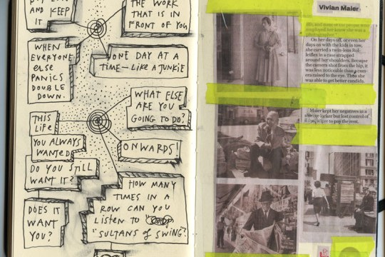 Sobre cuadernos y diarios