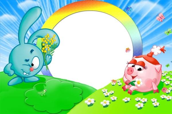 Смешарики - Детские - Каталог файлов - Рамки для фотошопа