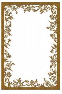 Рамки для текста фото поздравления: Коричневая рамка с ...
