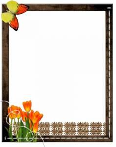 Рамки для текста фото поздравления: Серебряная рамка с ...