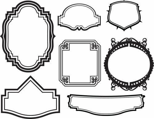 Рамки - Для коллажа картинки фото анимации гифки 2