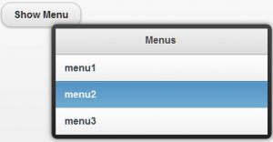 Creating dynamic popup menus with JQuery Mobile