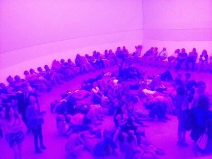 Turrell Guggenheim exhibit
