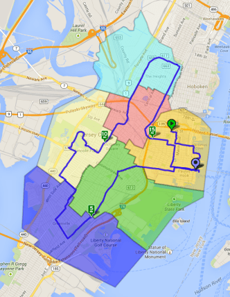 Jersey City Ward Bike Tour